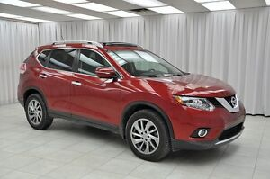 2015 Nissan Rogue 2.5SL PURE DRIVE AWD SUV w/ BLUETOOTH, LEATHER