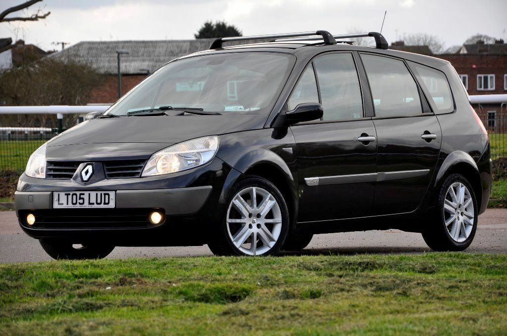 2005 renault grand scenic 2 0 vvt automatic privilege 5 doors mpv 7 seather 12 months mot in. Black Bedroom Furniture Sets. Home Design Ideas