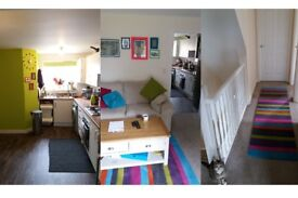 Two single rooms Sherburn, Bills inc', owners home, garden, single car space, house has cats