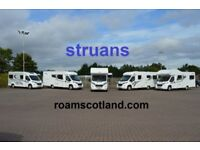 2, 4 & 6 BERTH MOTORHOMES FROM A REPUTABLE COMPANY. PET FRIENDLY VEHICLES AVAILABLE