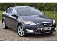 2010 Ford Mondeo 2.0 TDCi Titanium 5dr+DIESEL+1 FORMER KEEPER+FREE WARRANTY+JUST SERVICED