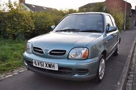 NISSAN MICRA 1.3 ACTIVE 3DR PETROL ( PART SERVICE HISTORY)