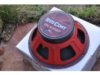 Eminence Red Coat the wizzard guitar speaker 8 ohm 75 watt 103 db