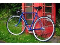 Fixed gear 'fixie' bicycle