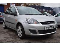 FORD FIESTA 1.2 STYLE CLIMATE 16V 5d 78 BHP 2 FORMER KEEPERS (silver) 2007