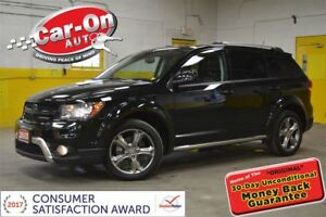 2017 Dodge Journey Crossroad AWD 7 PASS LEATHER SUNROOF NAV DVD
