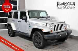 2012 Jeep WRANGLER UNLIMITED Sahara-Édition Artic- 2 toits