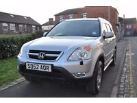 HONDA CR V 2.0 VTEC SE EXECUTIVE STATION WAGON 5DR PETROL (2 KEY)