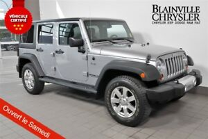 2013 Jeep WRANGLER UNLIMITED SPORT - GROUPE ELECTRIQUE - AIR CLI