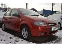 CHEVROLET KALOS 1.2 SE 5d 72 BHP 12 MONTH MOT PX TO CLEAR (red) 2007