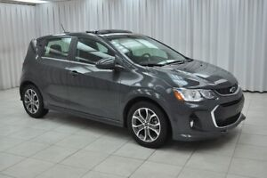 2018 Chevrolet Sonic TEST DRIVE TODAY!!! RS LT TURBO 5DR HATCH w