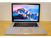 MacBook Pro 15' 2.3GHz i7 Quad Core 8GB Ram 500Gb HDD Logic Pro X Cubase 8 Ableton Waves Omnisphere
