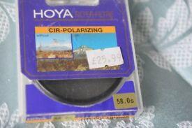 Hoya 58mm cir-polarizing filter