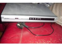 BUSH SILVER DVD PLAYER (NO REMOTE) IN GOOD WORKING ORDER