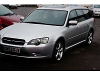 SUBARU LEGACY 2.5 AWD WITH NEW LPG CONVERSION , LONG MOT
