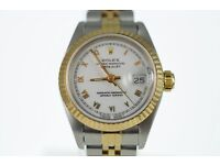 Rolex Ladies Datejust Steel/18ct gold Just serviced Two year warranty