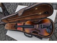 vintage mid century full size violin