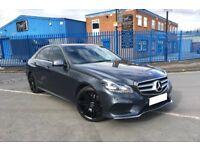 2014 Mercedes Benz E CLASS E250 AMG SPORT 19 inch Black AMG Alloys AUTO 28k FSH Excellent Condition