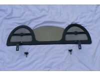 Wind deflector to fit MGF