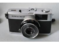 olympus trip point and shoot analog 35mm film camera lomo lomography