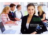 Succeedly Limited provide best quality marketing services all the time