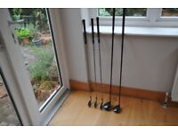 CLUBS 3,4&5 WOODS 1&5 REASONABLE CONDITION