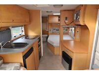 2007 Bailey Senator Wyoming Series 6 Twin Axle, fixed bed caravan.