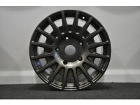 """18"""" TMS Stlye (Gunmetal) alloy wheels and tyres (5x108) Suitable for ford connect models"""