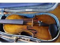 Violin: Schonbach, Bohemia, Early 1900s excellent condition