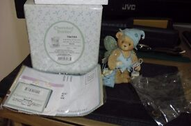 """CHERISHED TEDDIES ORNAMENT """"WANDA"""" THE FAIRY IN EXCELLENT CONDITION"""