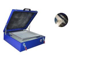 110V 60*70cm Silk Screen Vacuum UV Exposure Unit 24x28'' Precise Screen Printing Compressor Outside 219105