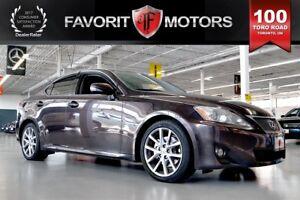 2012 Lexus IS 250 LTHR   SUNROOF   HEATED SEATS   HANDS-FREE CAL