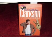 JERMERY CLARKSON HARDBACK BOOK ABOUT CARS IN LIKE NEW CONDITION