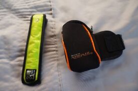Hypro Adrenaline Runners Arm Wallet and Karrimor Runners Flashing Band