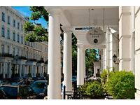 Hotel Receptionist required for a townhouse hotel in Earls Court, London to start immediately