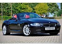 2008 BMW Z4 2.0 i Sport Roadster 2dr+CONVERTIBLE+FULL SERVICE HISTORY+6 SPEEDS+M UPGRADES
