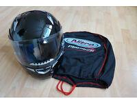 Nitro flip- front motorcycle helmet. Model FF346-1. Size: Large