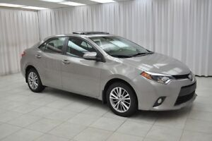 2014 Toyota Corolla LE SEDAN w/ BLUETOOTH, NAVIGATION, HEATED SE