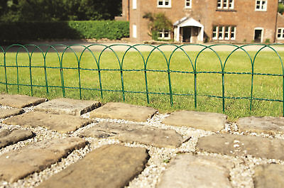 10m x 0.9m Traditional Border Fence / Hoop Top Fence