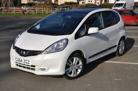 HONDA JAZZ EXi Sept 2014 in Orchid White Pearl