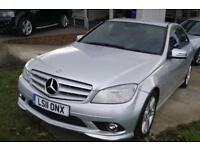 Mercedes-Benz C Class C250 Cdi Blueefficiency Sport (silver) 2011
