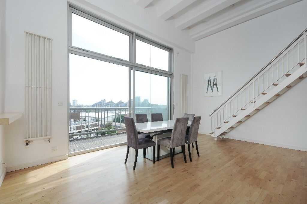 A unique warehouse-style one bedroom apartment with a private balcony , Peterborough Road, SW6