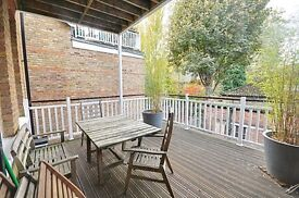 A stunning two double bedroom, two bathroom first floor flat in the centre of Ealing Broadway.