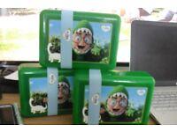 BRAND NEW SET OF 3 FLORA FOOD STORAGE BOX'S