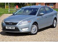2007 Ford Mondeo 2.0 TDCi Zetec 5dr+DIESEL+FREE WARRANTY+12 MONTHS MOT+FULL SERVICE HISTORY