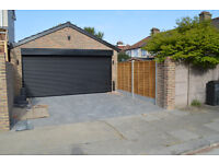 NEW DOUBLE GARAGE TO LET - 6 MONTHS LET ONLY