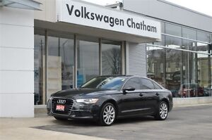 2012 Audi A6 3.0 Premium quattro AWD, Heated Leather