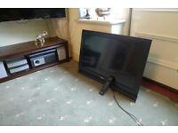"""Sony Bravia flat screen TV 32"""" with remote"""