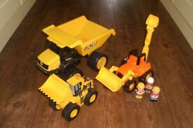 ELC Diggers and Dumper Trucks