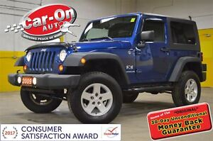 2009 Jeep Wrangler X TRAIL RATED ONLY 75,000 KM